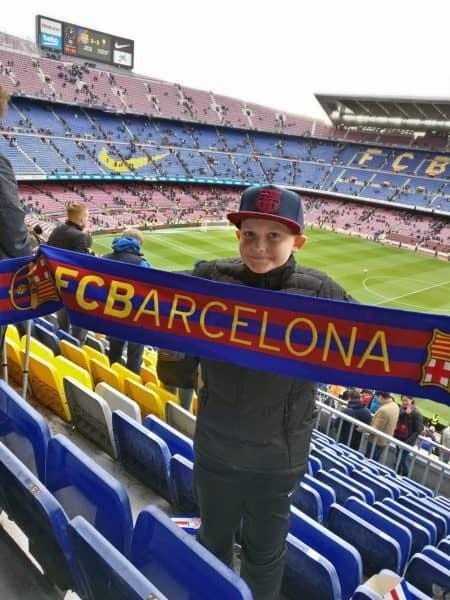 Jeg ønsker mig en ferie til Barcelona