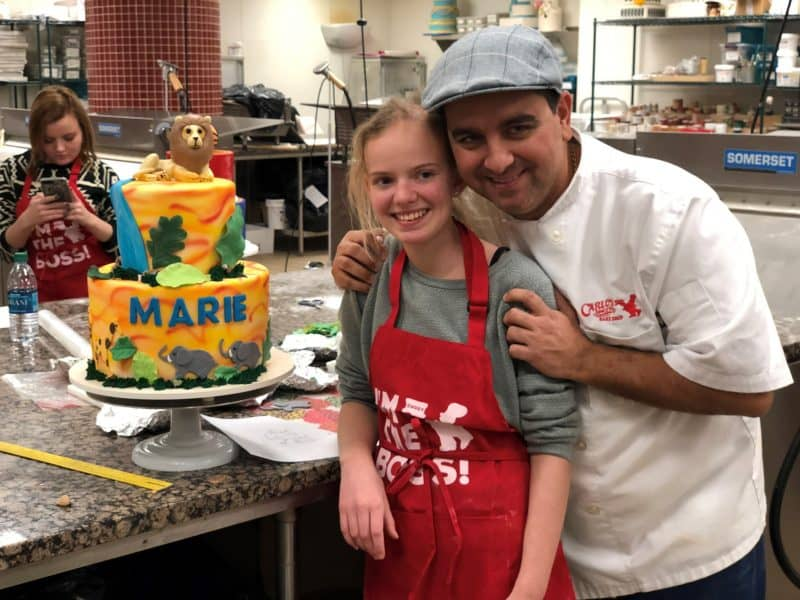Marie ønsker at Buddy, the Cake Boss i New York