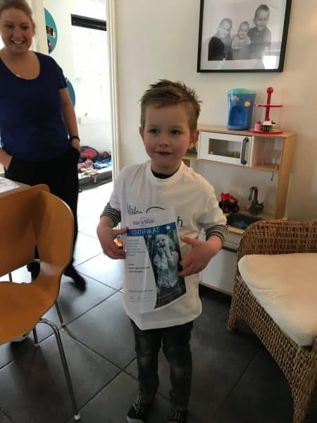 Jeppe ønsker sig en ATV såhan kan besøge sin farfar