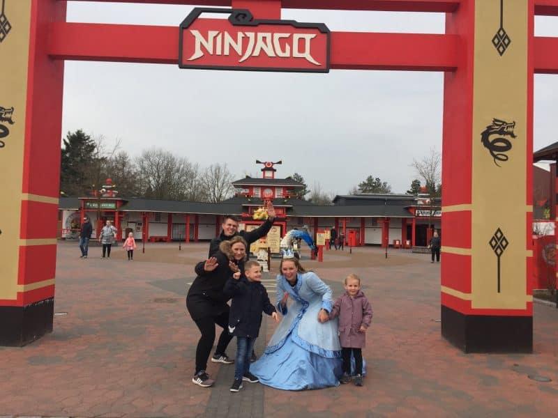 Mikkel fik sit ønske om at komme til Legoland opfyldt