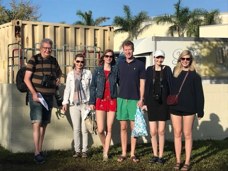 Christina ønsker sig sol og dejlige glade dage i Florida