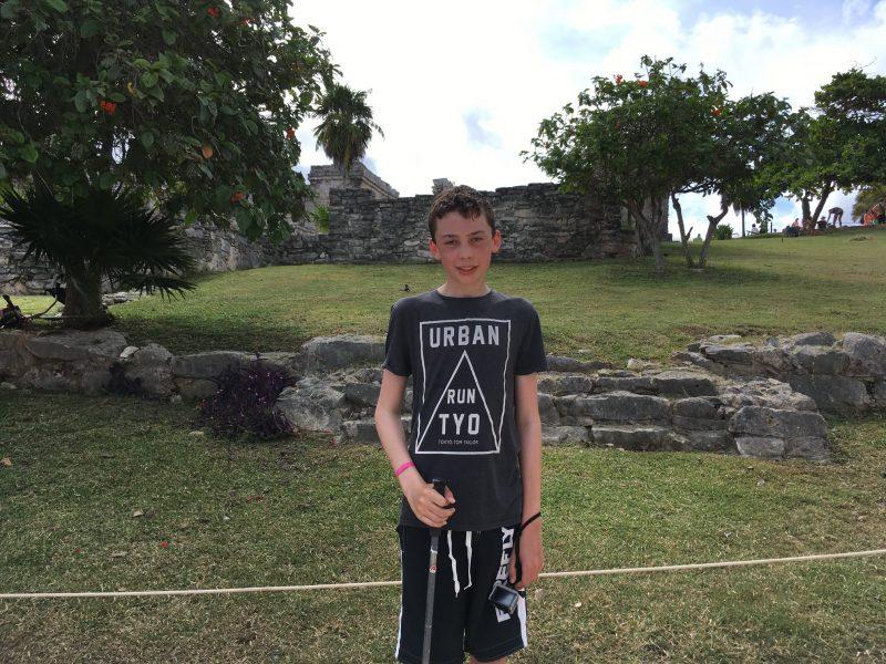 Simon ønsker at komme til Yucatán-halvøen