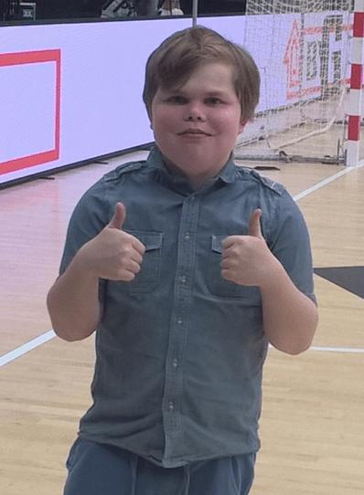 Vores Ønskebarn Andreasfår i dag opfyldt sit højeste ønske