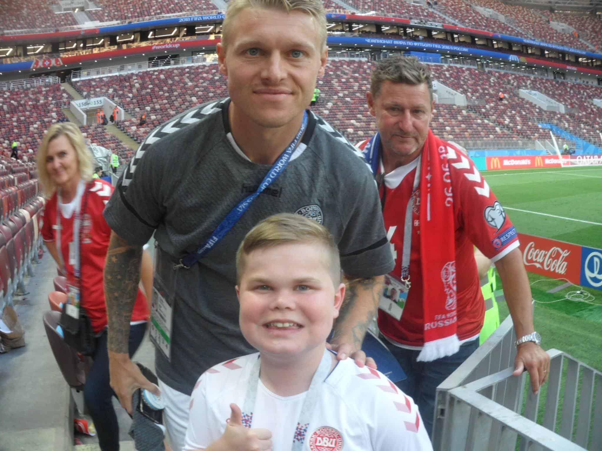 Husker du Ønskebarnet Andreas, fodboldentusiasten over dem alle?
