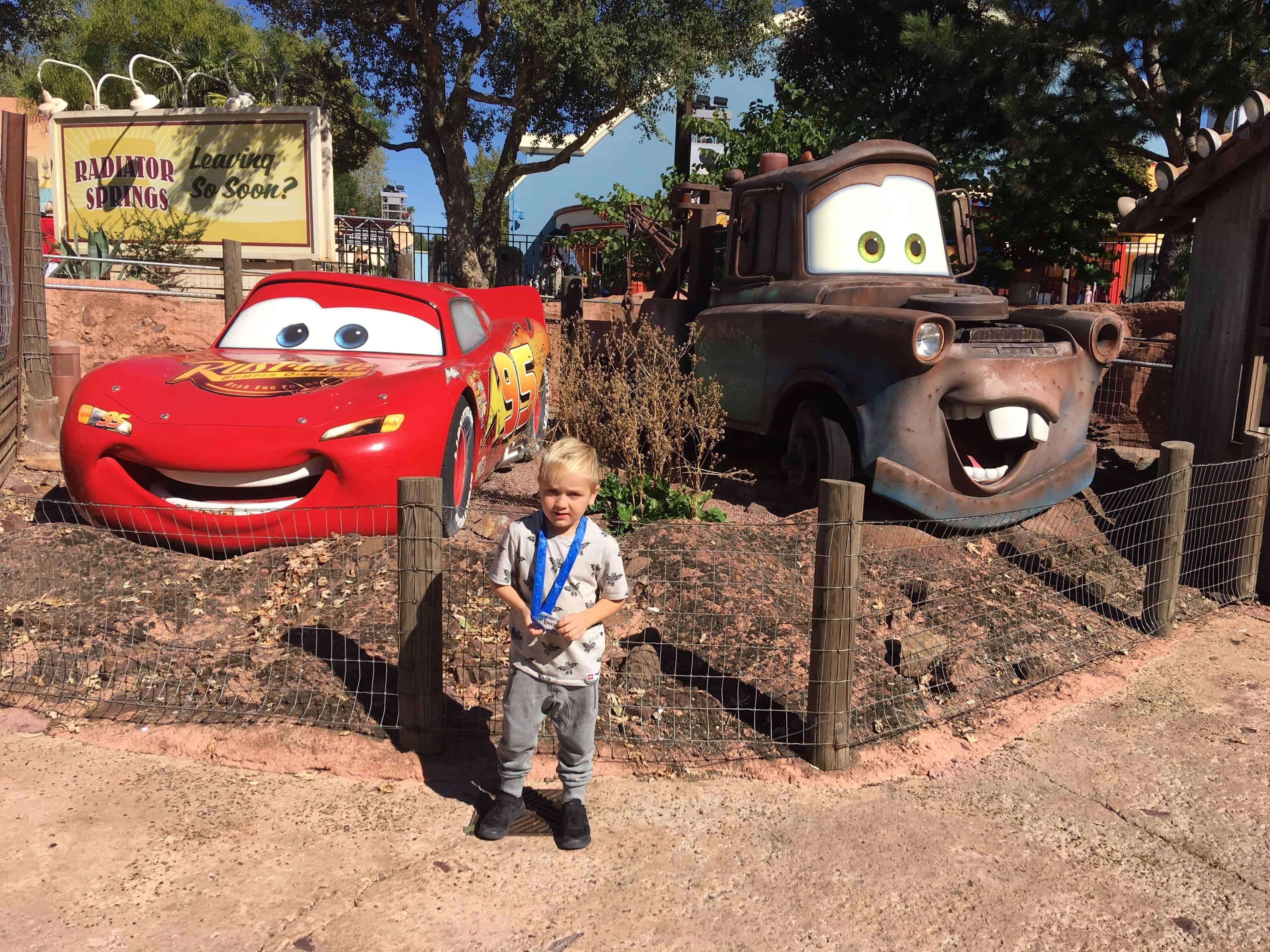 Frederik i Disneyland Paris
