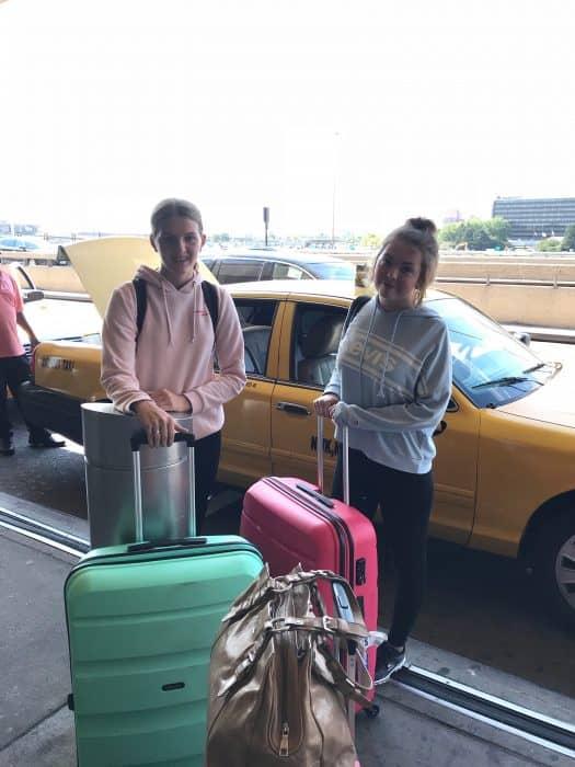 Frederikke rejste til New York