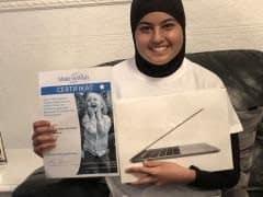 Jenin ønsker sig en MacBook