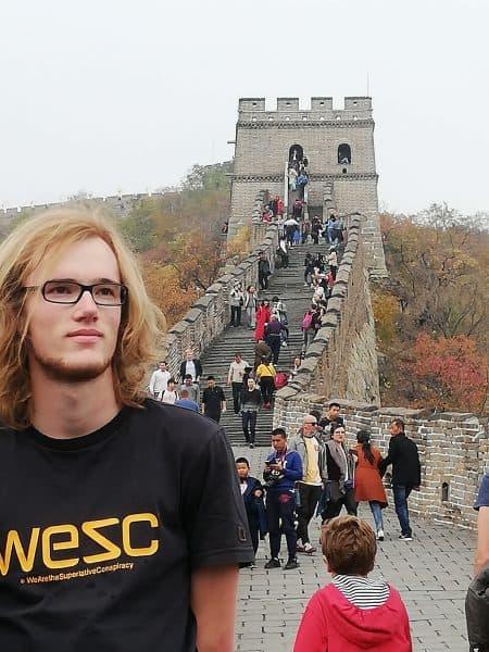 Emil rejste til Kina