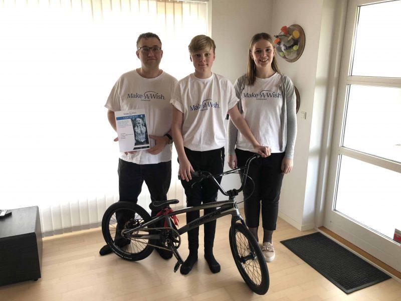 Nicolaj er klar til at cykle igen