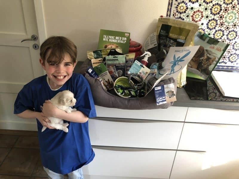 Anton er klar til at byde et nyt familiemedlem velkommen