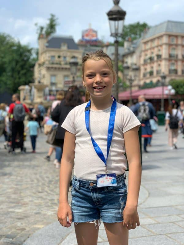 Sofias drømmetur til Disneyland Paris