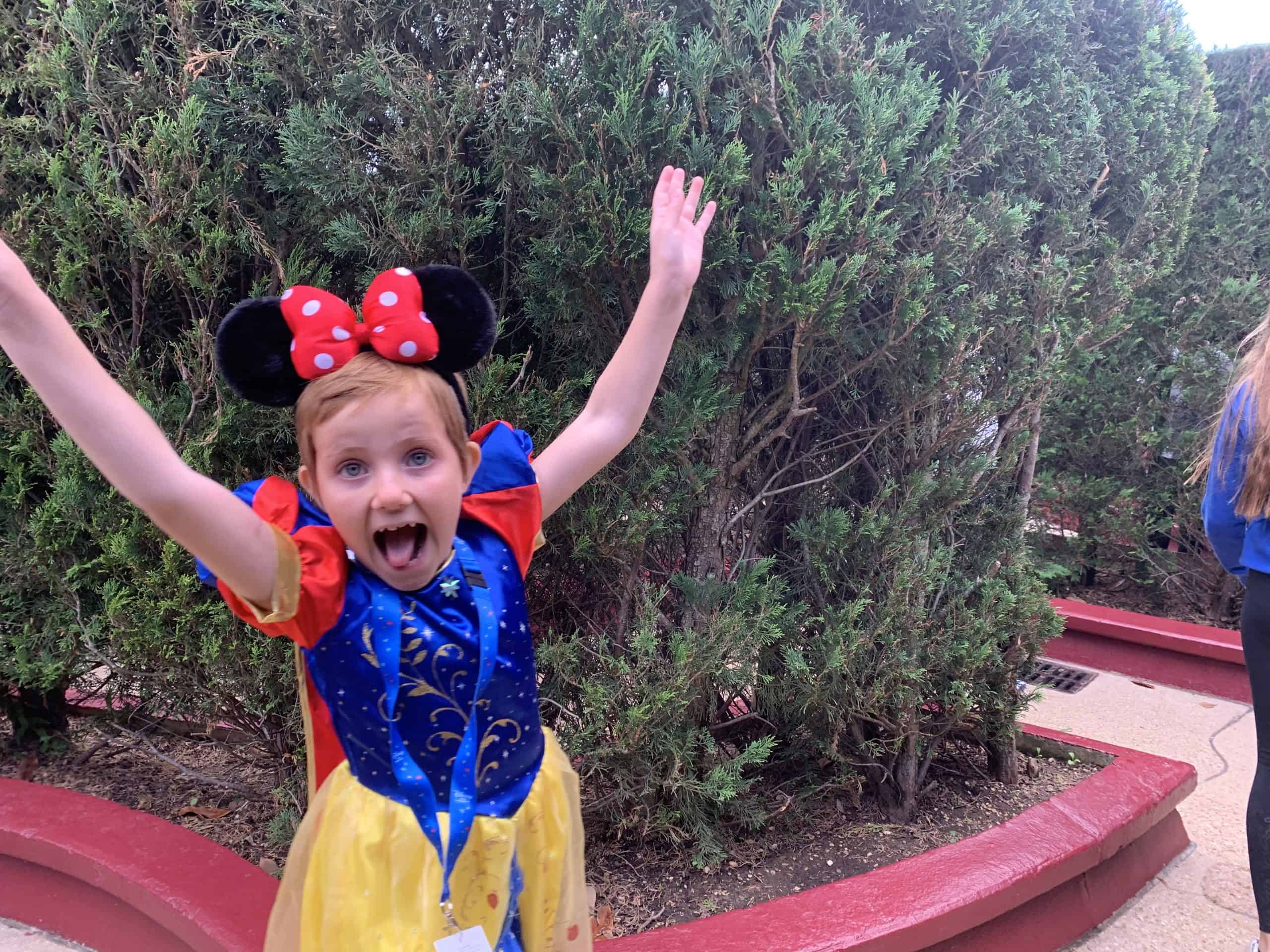 Tillys magiske tur til Disneyland Paris