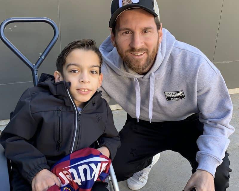 Abbas mødte Messi