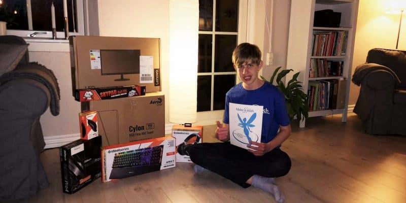 Rasmus fik en gamer pc